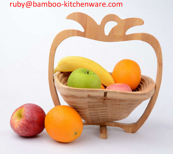 Empty Cute Artificial Fruit Child Favor Bamboo Wooden Folding And Egg Picki