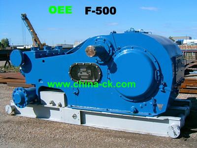 Emsco F 500 Triplex Mud Pump In Oilfield