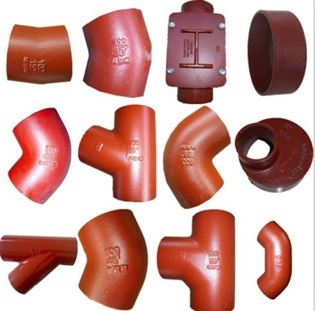 En877 Din19522 Iso6594 Cast Iron Pipe And Fittings