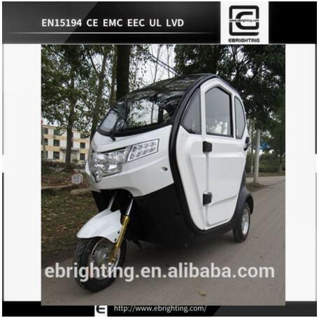Enclosed 60v 20ah 1000w Electric Handicapped Scooter For Elderly