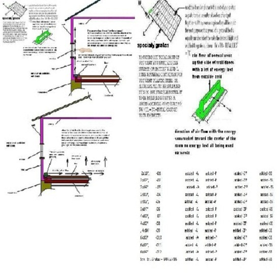 Energy Saver Floor Vent And Grate
