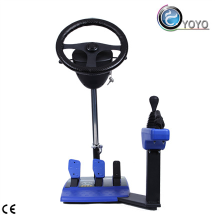 Enjoy Driving Course At Home Motor Car Simulation Machine