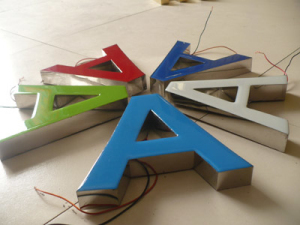 Epoxy Resin Glue For Outdoor Led Signs Letter