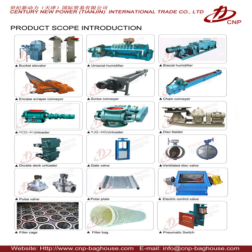 Equipment Parts Of Dust Collector