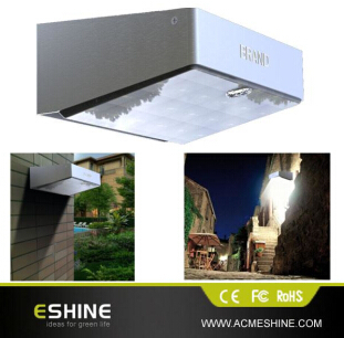 Eshine 53 Led Solar Powered Motion Activated Security Light