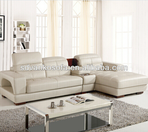 European Design 7 Seat Indoor Natural Leather Sofa For Home