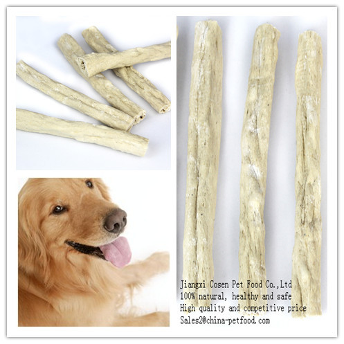 Expanded Beefhide Sticks For Dog Chewing