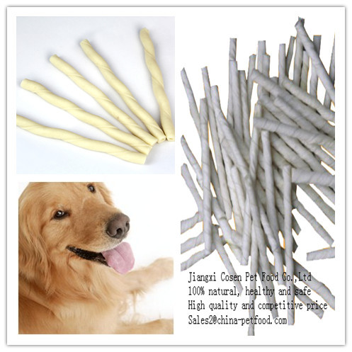 Expanded Twisted Stick For Dog Treats