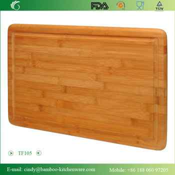 Extra Large Bamboo Cutting Board With Groove