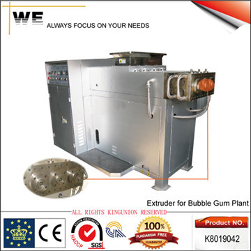 Extruder For Bubble Gum Plant