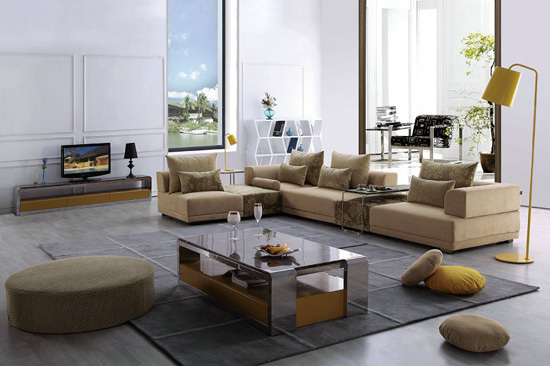 F812 Fashion Comfortable Simplicity Suitable For Household Beautiful Sofa