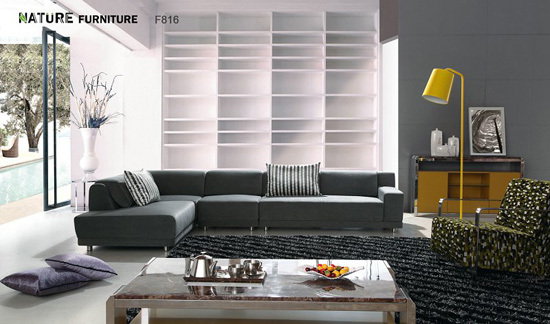 F816 Fashion Comfortable Simplicity Suitable For Household Beautiful Sofa