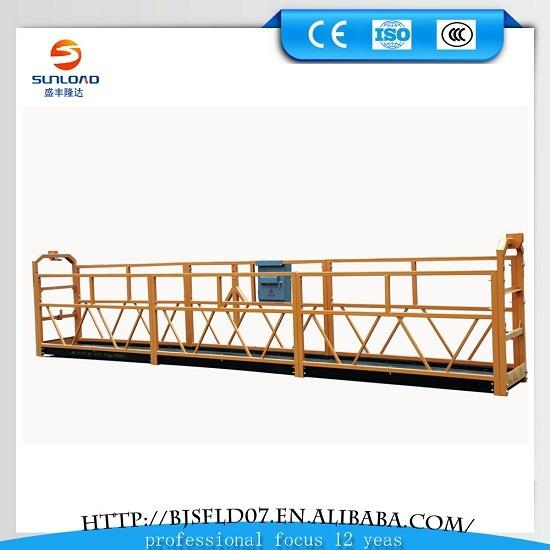 Facade Cleaning Steel Suspended Platform Zlp630 Building Cradle Srp Platfor