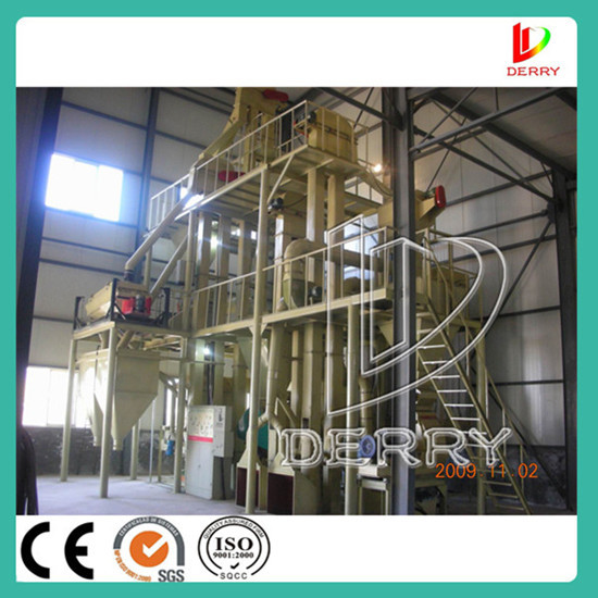 Factory Directly Supply Rabbit Cattle Feed Pellet Machine Line Price With C