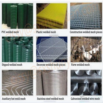 Factory Store Anti Rust Wire Mesh Pvc Nets Vinyl Welded