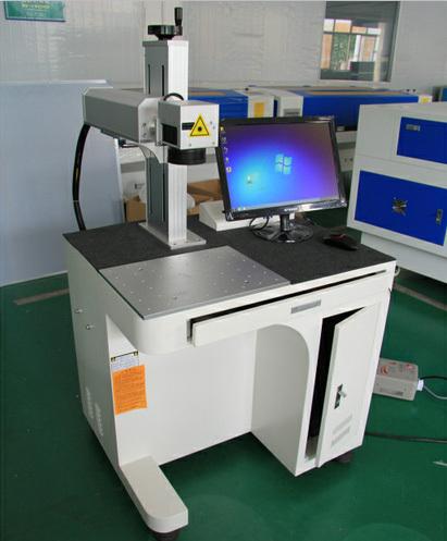Famous Laser Generator Fiber Metal Marking Machine From Chanxan