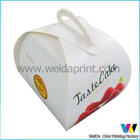 Fancy Mini Colorful Cupcake Packaging Box
