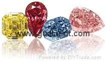 Fancy Synthetic Diamond