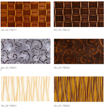Fashion 3d Embossed Mdf Wall Panel For Interior Design
