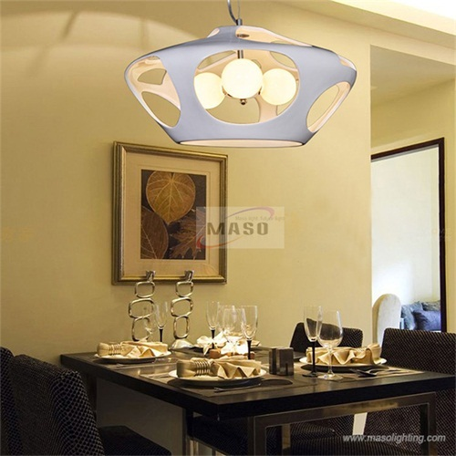 Fashion 60w Resin Pendant Lamp For Dining Room Bar Indoor Lighting Factory