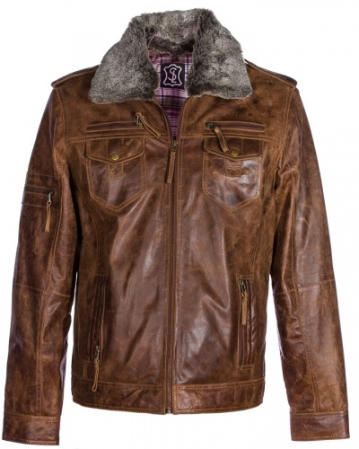 Fashion Jackets Fur Leather