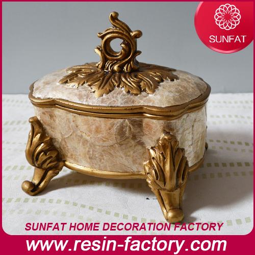 Fashion Modern Plated Jewelry Box Home Decoration
