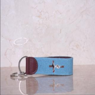 Fashion Needlepoint Key Chains