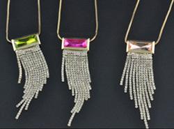 Fashion Rhinestone Necklaces Wholesale From China