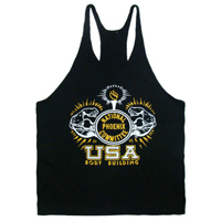 Fashionable Tank Top Men Mens Tops Gym Singlets