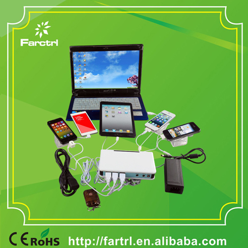 Fc167b Farctrl Yes Charging Multiple Mobile Phone Holder For Retail Securit