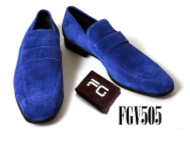 Feather Glory Footwear Velvet Loafers