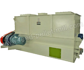 Feed Ribbon Blender Mixer Machine Pellet Mill Blend