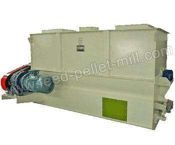 Feed Ribbon Blender Mixer Machine Pellet Mill Blend