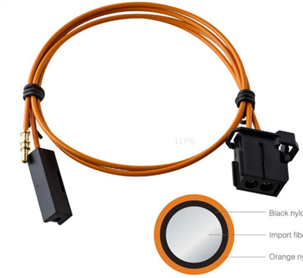 Fiber Optical Cable For Car Most Control System Plastic Optic