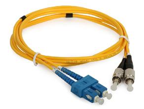 Fiber Patch Cord Single Mode Pc 2xsc 2xfc 9 125