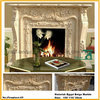 Fireplace Stone Craved Marble Granite
