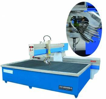 Five Axis Water Jet Cutting Machine