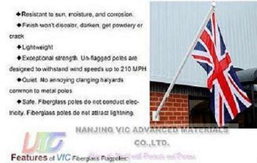 Flagpoles High Strength Fiberglass Professional Manufacturer