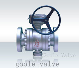 Flange Connection Fixed Ball Valve