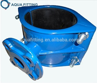 Flange Outlet Saddle For Di Pipe