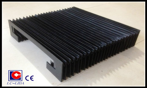 Flexible Accordion Type Protective Bellow Cover For Cnc Machine