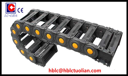 Flexible Cable Carrier Chain Bridge Type Total Enclosed
