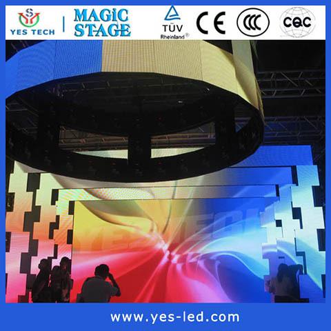 Flexible P6 Rgb Led Display