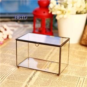 Flower Vase For Indoor Decoration Geometric Clear Glass Plant Terrariu