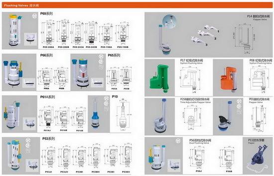 Flush Valves Toilet Accessorice