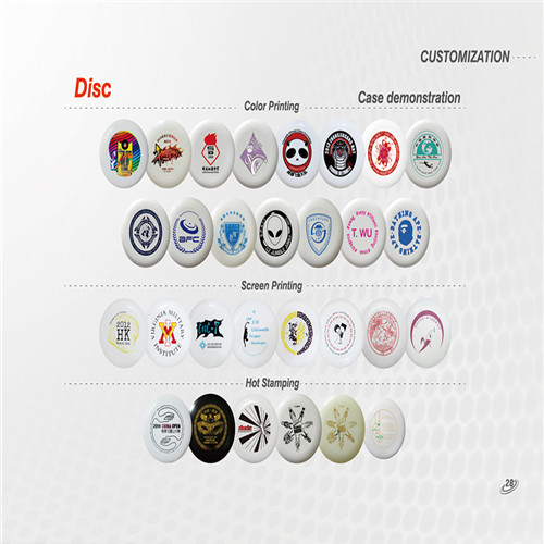 Flying Disc Customization
