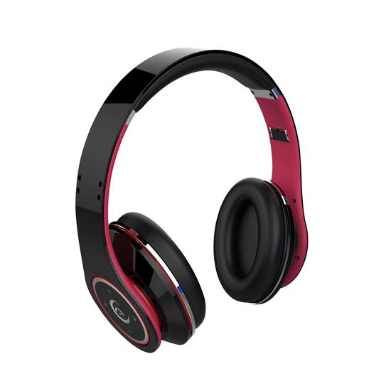 Foldable Bluetooth Headset With Adjustable Headband