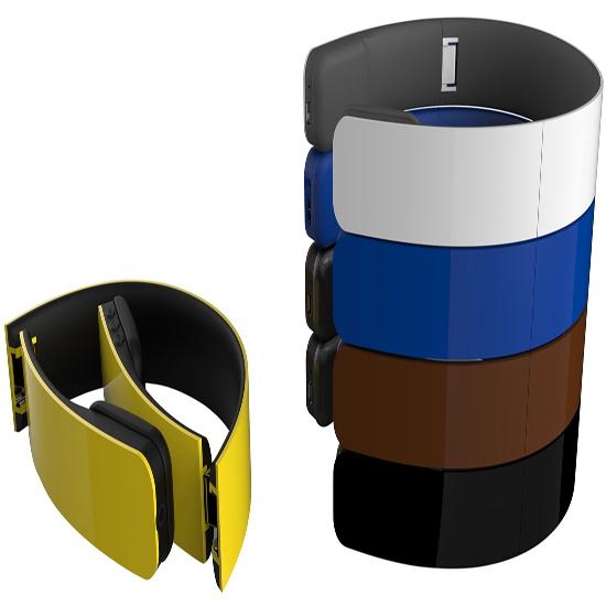 Foldable Wireless Stereo Bluetooth Headphone With Adjustable Headband
