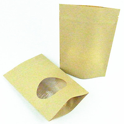 Food Grade Brown Kraft Paper Bags