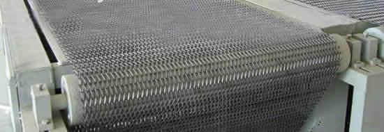 Food Grade Metallic Mesh Conveyor Belts